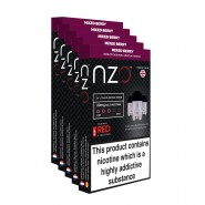 NZO Mixed Berry Pods (5 Boxes)