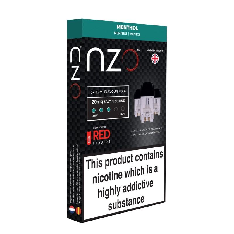 NZO Menthol Pods (3 Pack)
