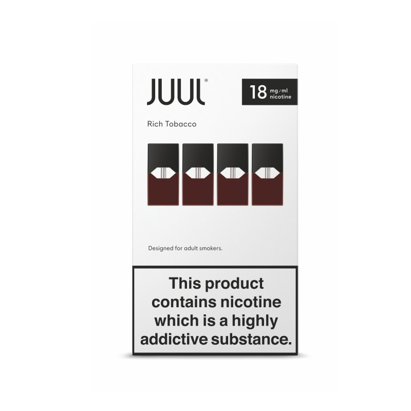 JUUL Pods - Rich Tobacco (8 Boxes)