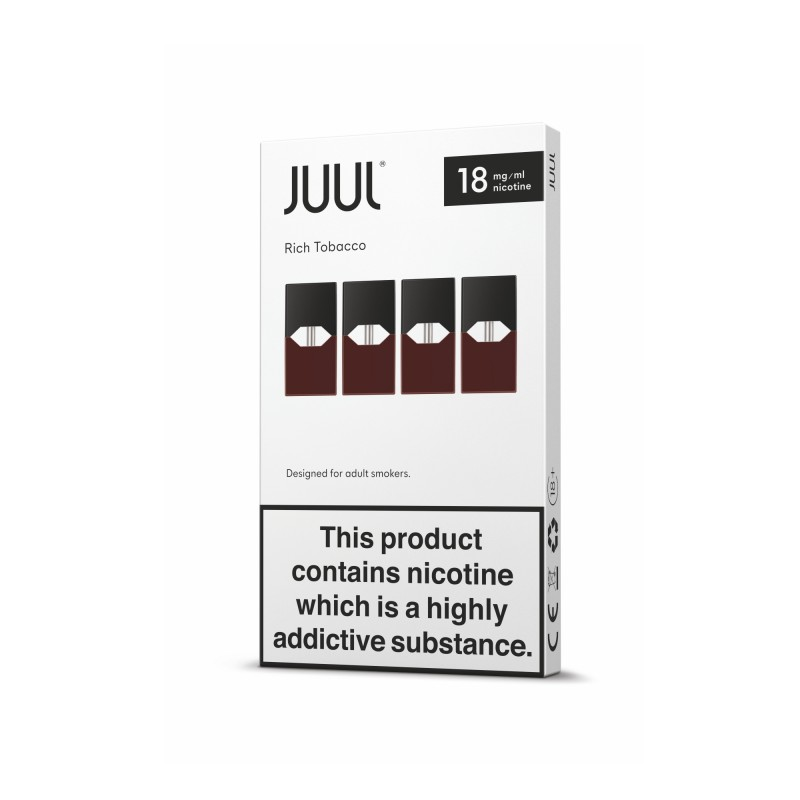 JUUL Pods - Rich Tobacco (4 pack)