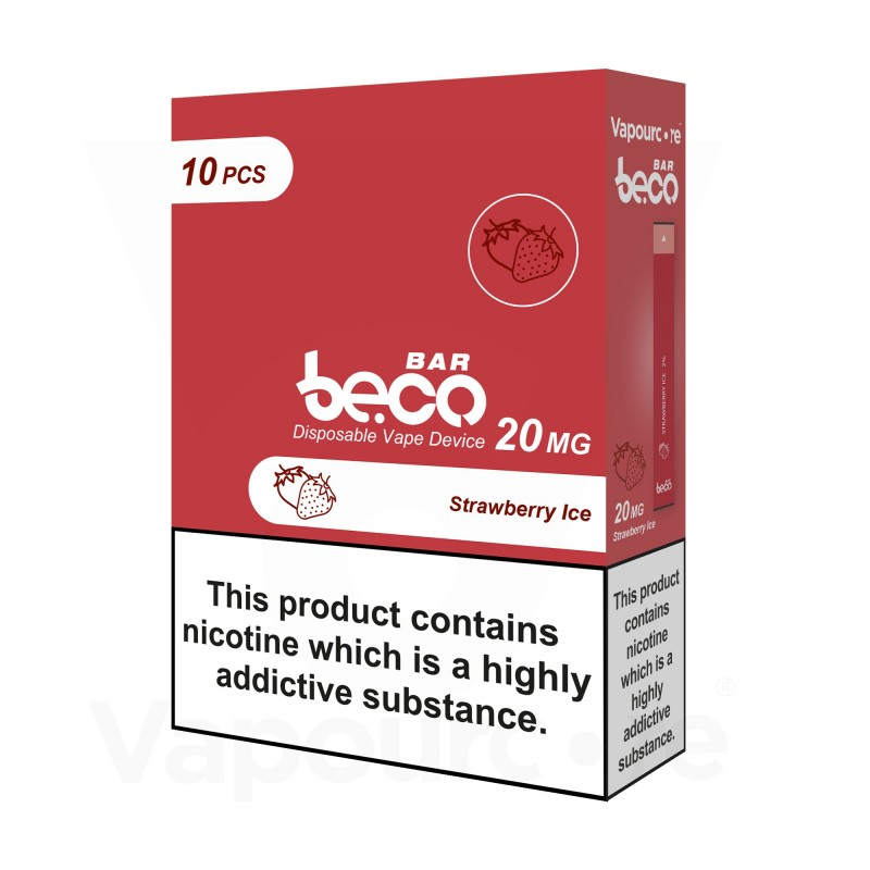 Beco Bar Strawberry Ice (10 Pack)